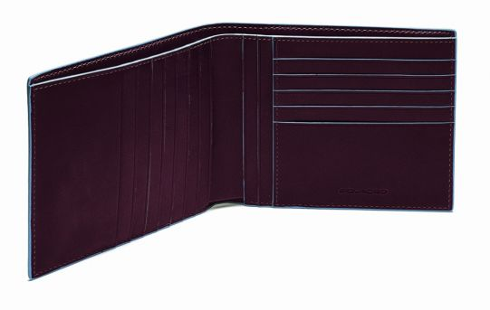 Мъжки портфейл Piquadro с 15 отделения за кредитни карти