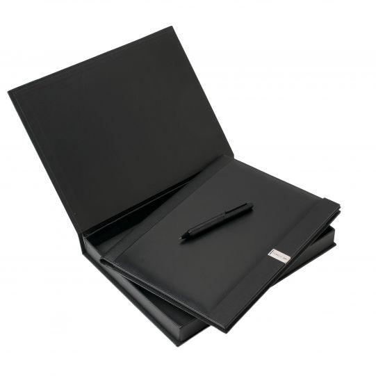 КОМПЛЕКТ ПАПКА А4+USB 4GB-NDF309 + ХИМИКАЛКА NSR3094 В КУТИЯ