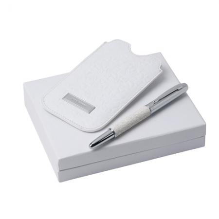 Nina Ricci Комплект Кожен калъф за Iphone + Писалка