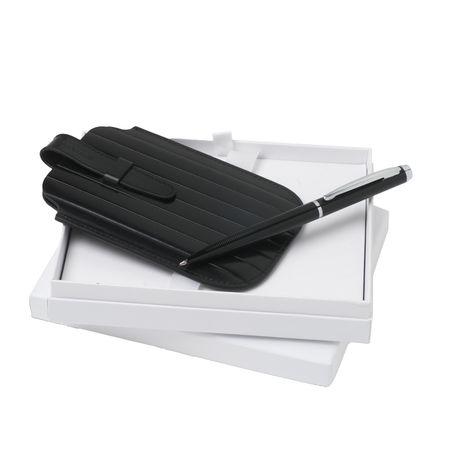 Nina Ricci Комплект Кожен калъф за Iphone и химикалка
