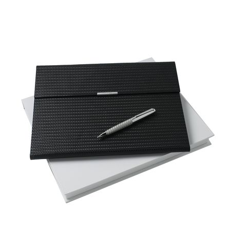 Nina Ricci Комплект Кожена папка А4 и химикалка