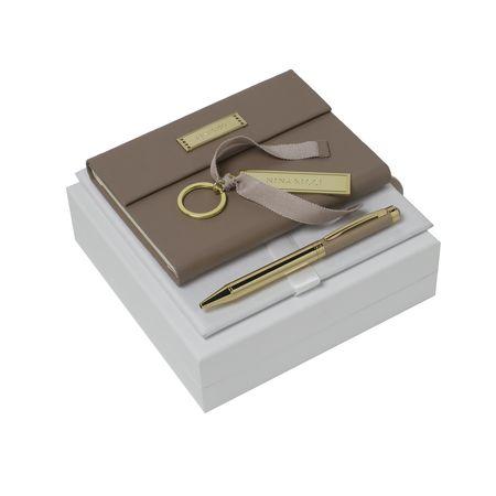 Nina Ricci Комплект Бележник А6, ключодържател и химикалка