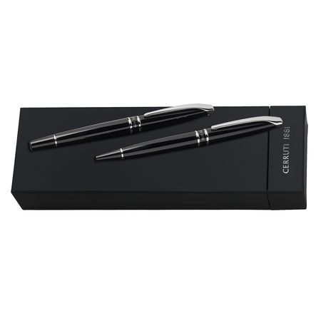 Cerruti Комплект Химикалка и писалка Silver