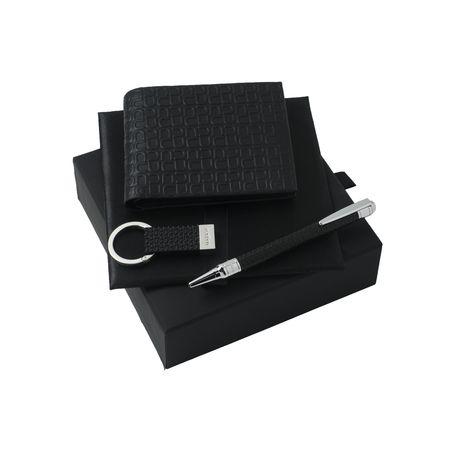 Ungaro Комплект Портфейл кожен, ключодържател и химикалка