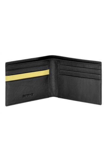 Черен мъжки портфейл от естествена кожа U76.09.001