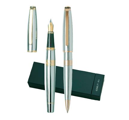 Комплкет писалка и химикалка Cerruti Bicolore