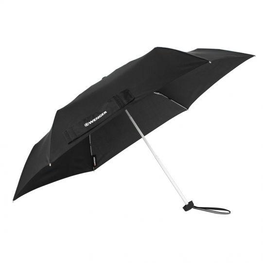 Плосък телескопичен чадър Wenger Rubberstyle