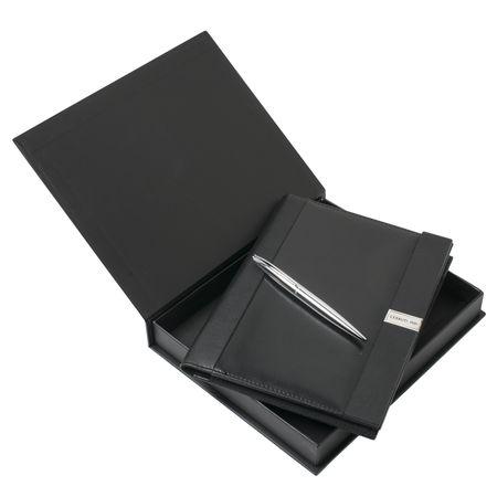 Комплект луксозна папка А4 + USB памет 8GB + химикалка CERRUTI 1881