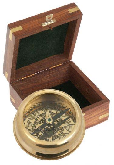 Компас - HAVANNA в дървена подаръчна кутия