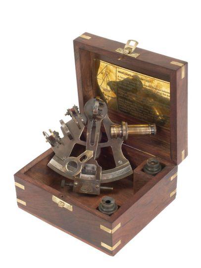 Секстант - VENTURA в дървена подаръчна кутия
