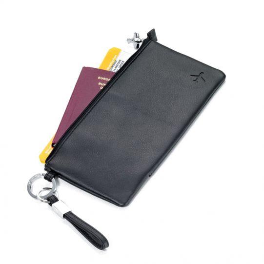Калъф за документи и самолетни билети TROIKA - MIDNIGHT
