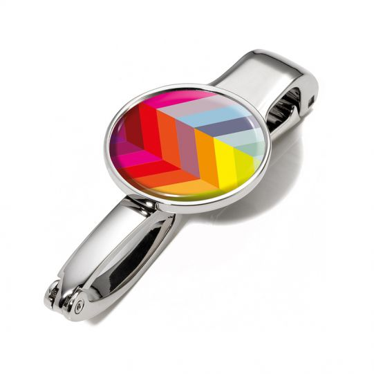 Закачалка за чанта TROIKA - Digital rainbow