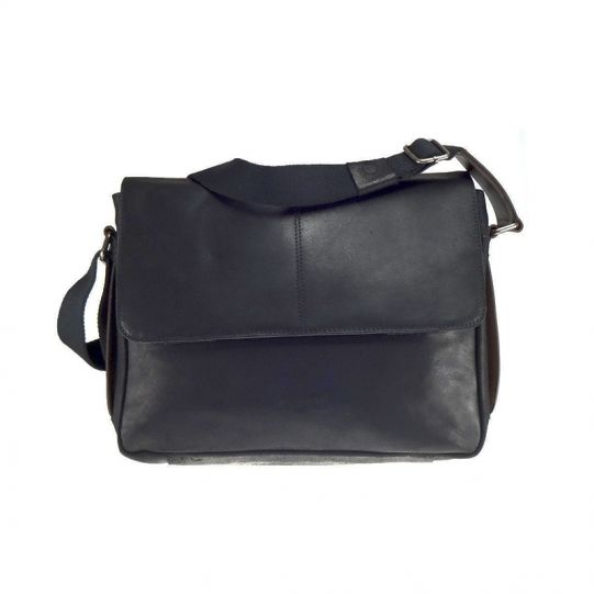 Кожена чанта Bugatti GRINTA, за лаптоп 12