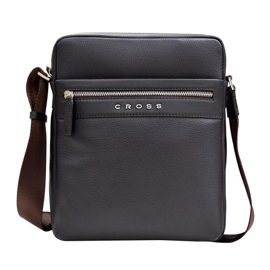Мъжка чантичка Cross Nueva FV Crossbody Bag, за таблет, кафява