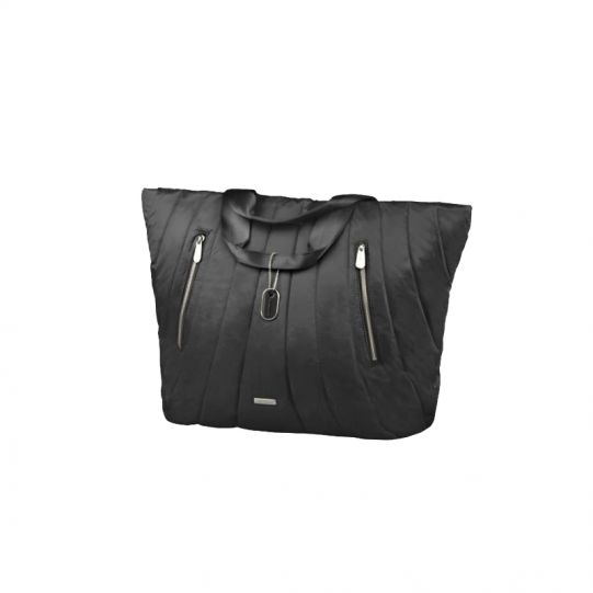 Голяма черна дамска чанта Midtown
