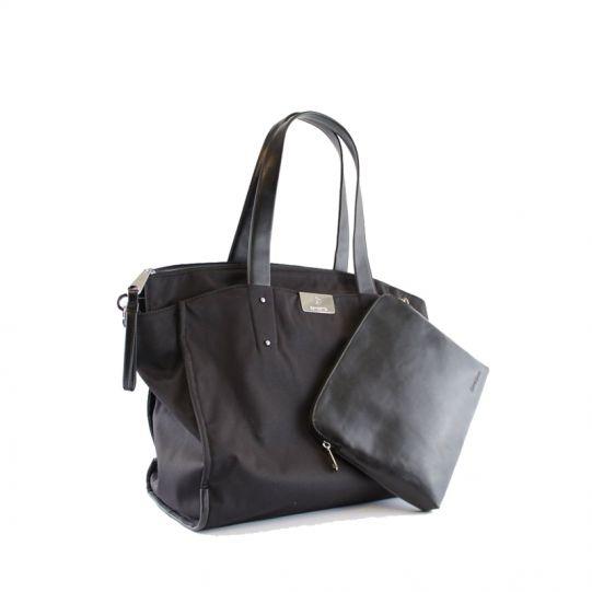 Дамска чанта за 15,6 инча лаптоп Lady Biz II черен цвят