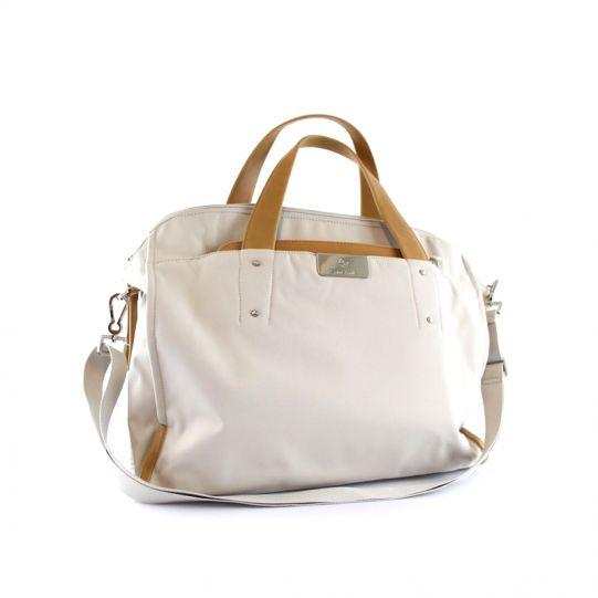 Дамска бизнес чанта за 15,6 инча лаптоп Lady Biz II цвят сребърно сиво