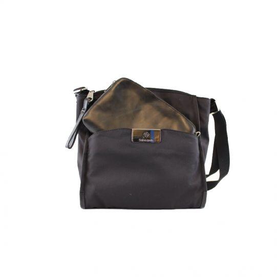 Дамска бизнес чанта през рамо Lady Biz II черен цвят