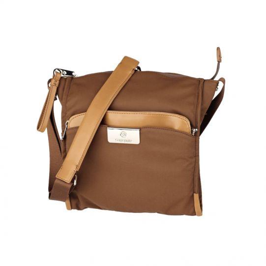 Дамска бизнес чанта през рамо Lady Biz II цвят тютюн