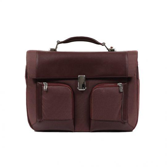 Бизнес чанта с 1 преграда S-Teem за 15,4 инча лаптоп цвят ръжда