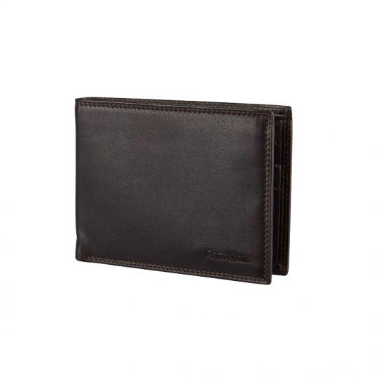 Мъжки портфейл Samsonite със 17 отделения за карти и документи