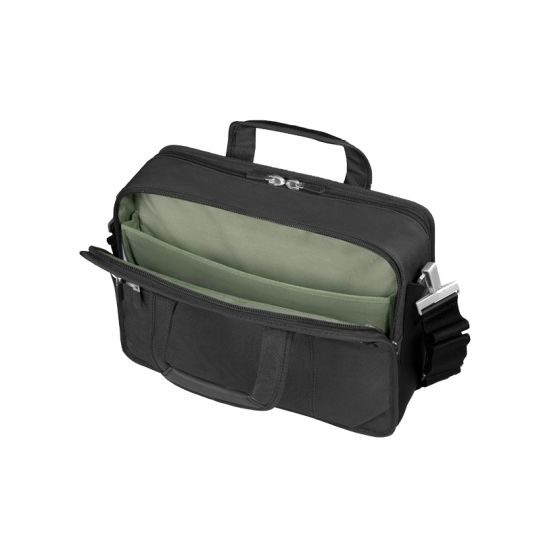 Бизнес компютърна чанта Avior за 17 инча лаптоп черен цвят