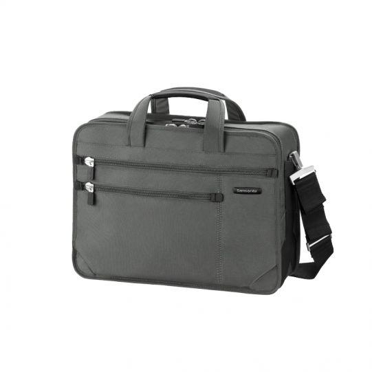 Бизнес компютърна чанта Avior за 17 инча лаптоп сив цвят