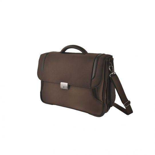 Кафява бизнес чанта с 3 прегради X'Blade business, за 16 инча лаптоп