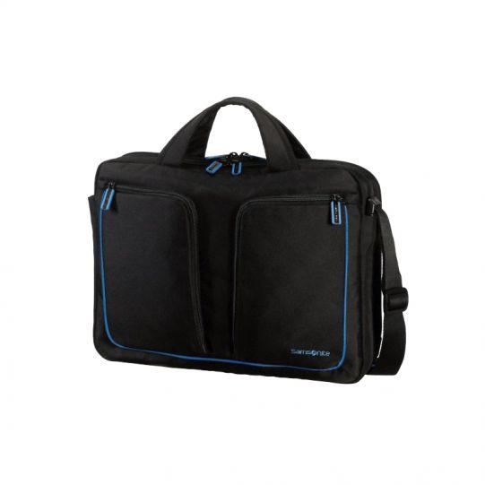 Чанта Flexxea за 14-16 инча лаптоп цвят черено/синьо