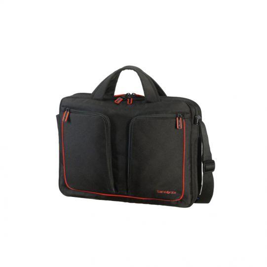 Чанта Flexxea за 13-14 инча лаптоп цвят черно/червено