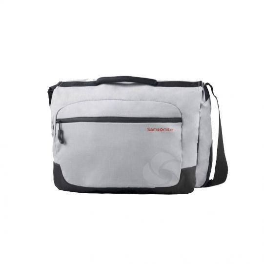 Сива чанта Debyte, размер L, за 16,4 инча лаптоп