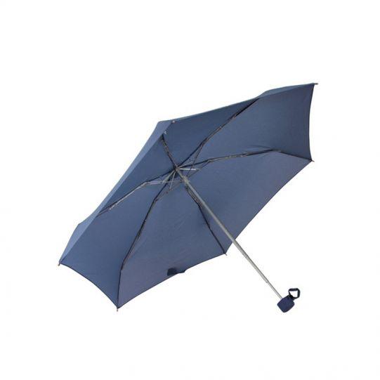 Дамски ръчен чадър в син цвят Samsonite