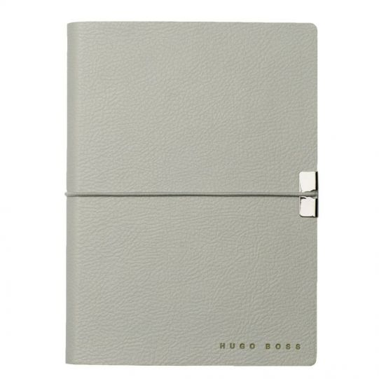 Тефтер А6 HUGO BOSS STORYLINE LIGHT GREY