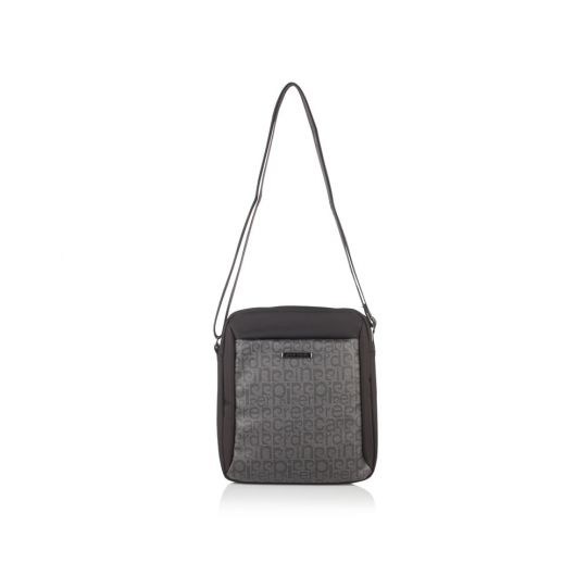 Мъжка чанта Pierre Cardin черна-сива