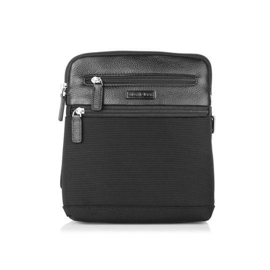 Черна чанта SILVER FLAM, средна