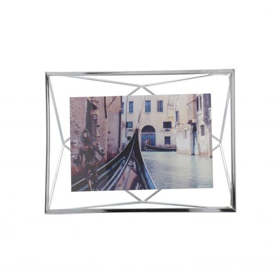 "UMBRA Рамка за снимки ""PRISMA"" - цвят хром - 10х15см"