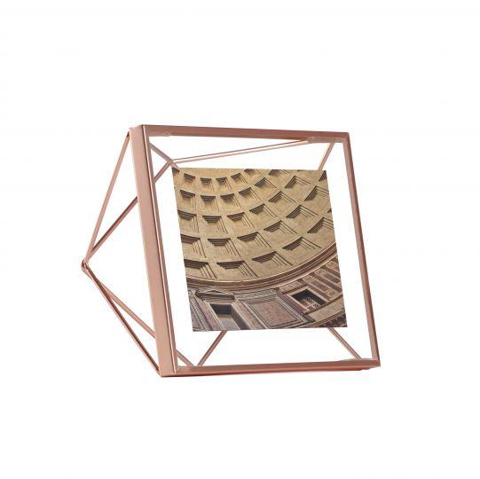 """UMBRA Рамка за снимки """"PRISMA"""" - цвят мед - 10х10см"""