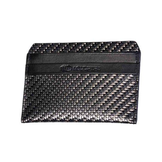 Мъжки калъф за кредитни карти от Карбон Coldfire, GT-Rebel Carbon Fiber Stealth Cardholder, RFID защита