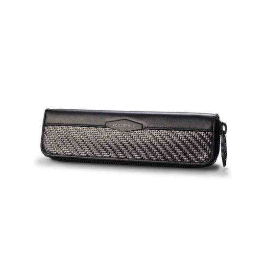 Калъф за химикали с 2 слота от Карбон Coldfire, GT-Rebel Carbon Fibre Pen Case with 2 Holders