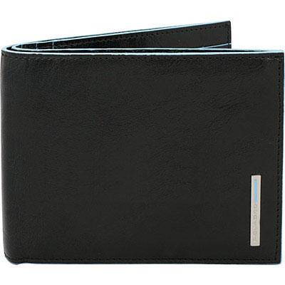 Мъжки портфейл Piquadro с 6 отделения за кредитни карти