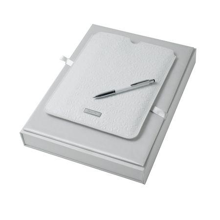 Nina Ricci Комплект Кожен калъф за IPAD и химикалка