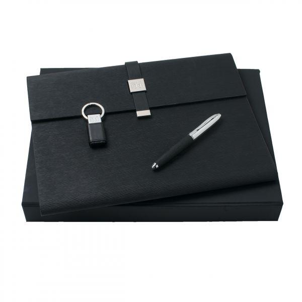 Cerruti Комплект Папка А4 , ключодържател- USB и Ролер