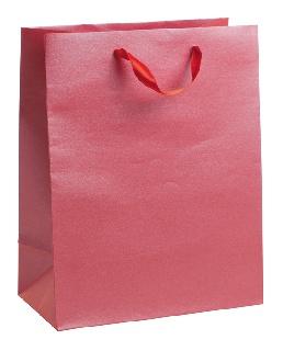 Подаръчен плик червено сребрист