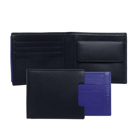 Cacharel Портфейл от естествена кожа London Blue