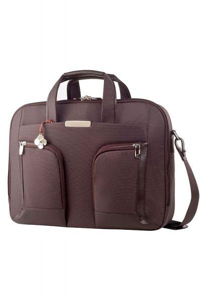 """Бизнес чанта S-Teem за 15,6"""" лаптоп в тъмно кафяв цвят"""