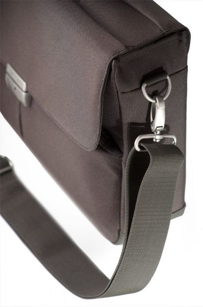 Компютърна бизнес чанта Cordoba Duo с две прегради за 16 инча лаптоп кафяв цвят