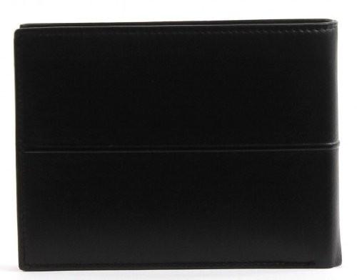 Черен мъжки портфейл от естествена кожа U76.09.002