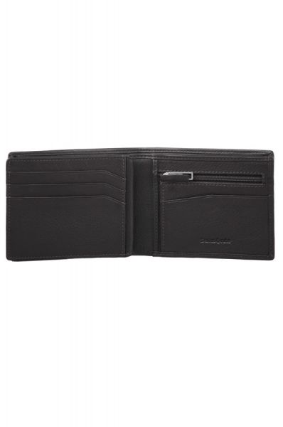 Mъжки черен портфейл от естествена кожа