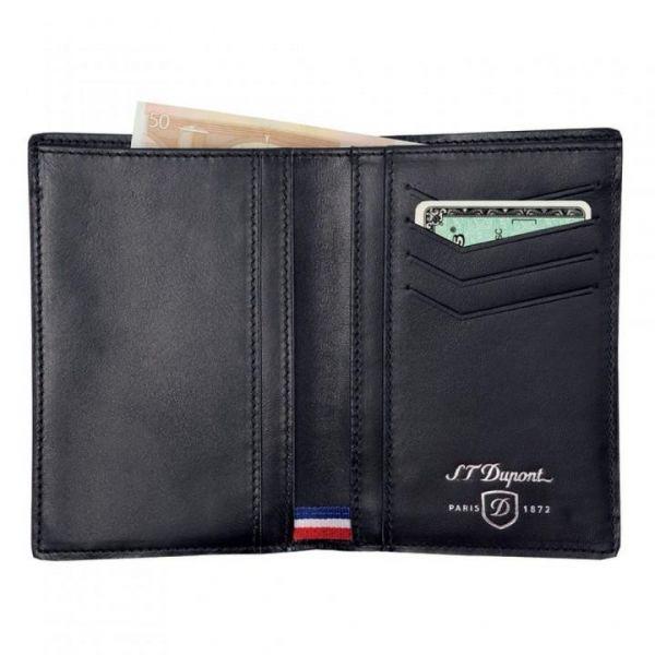 Портфейл S.T. Dupont с 4 отделения за кредитни карти