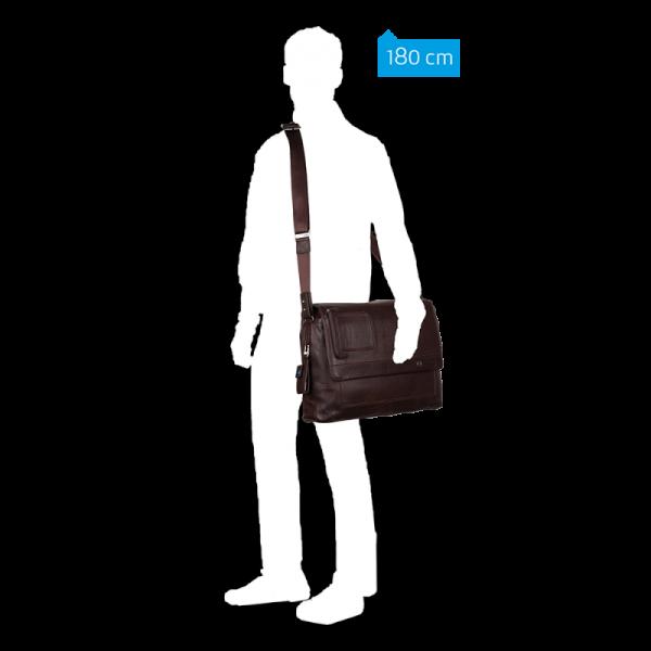 Vibe Computer Messenger (dark brown) – Business & Laptop CA1592VI/TM